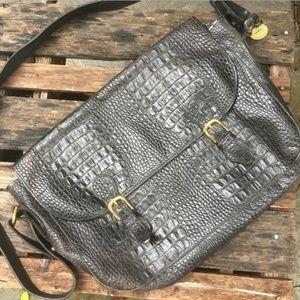 Vintage Brahmin Leather Crossbody Bag